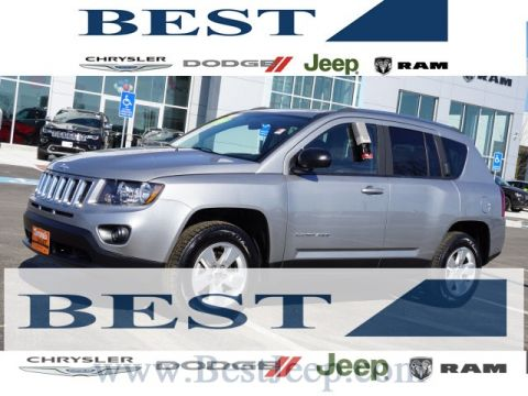 Certified Pre-Owned 2015 Jeep Compass Sport FWD 4D Sport Utility
