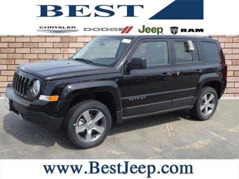 New 2016 Jeep Patriot High Altitude 4WD