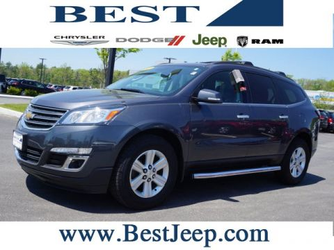 Pre-Owned 2013 Chevrolet Traverse LT FWD 4D Sport Utility