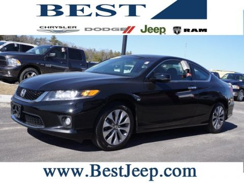 Pre-Owned 2013 Honda Accord EX FWD 2D Coupe