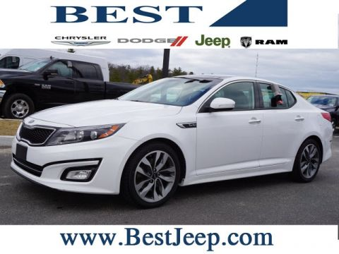 Pre-Owned 2015 Kia Optima SXL FWD 4D Sedan