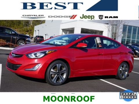 Pre-Owned 2015 Hyundai Elantra Sport FWD 4D Sedan